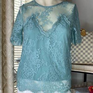 Lulus lace blouse